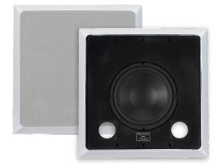 Ridley Acoustics IWSD250 In-Wall Dual Voice Subwoofer
